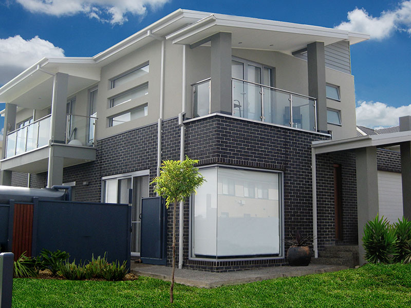 sloping block house designs Melbourne
