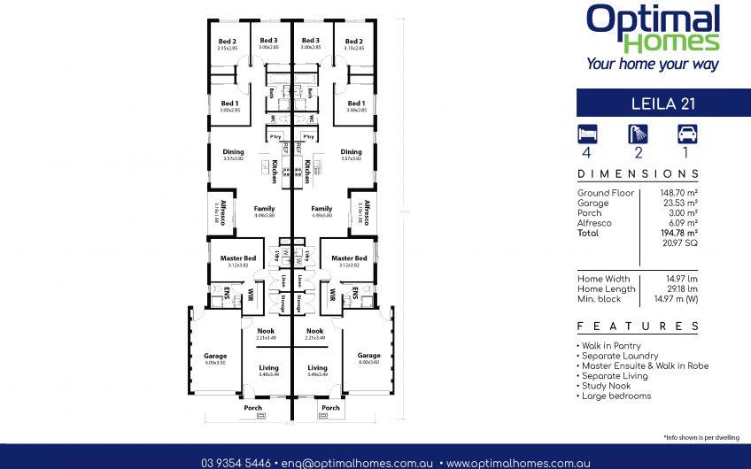 Leila 21 Duplex