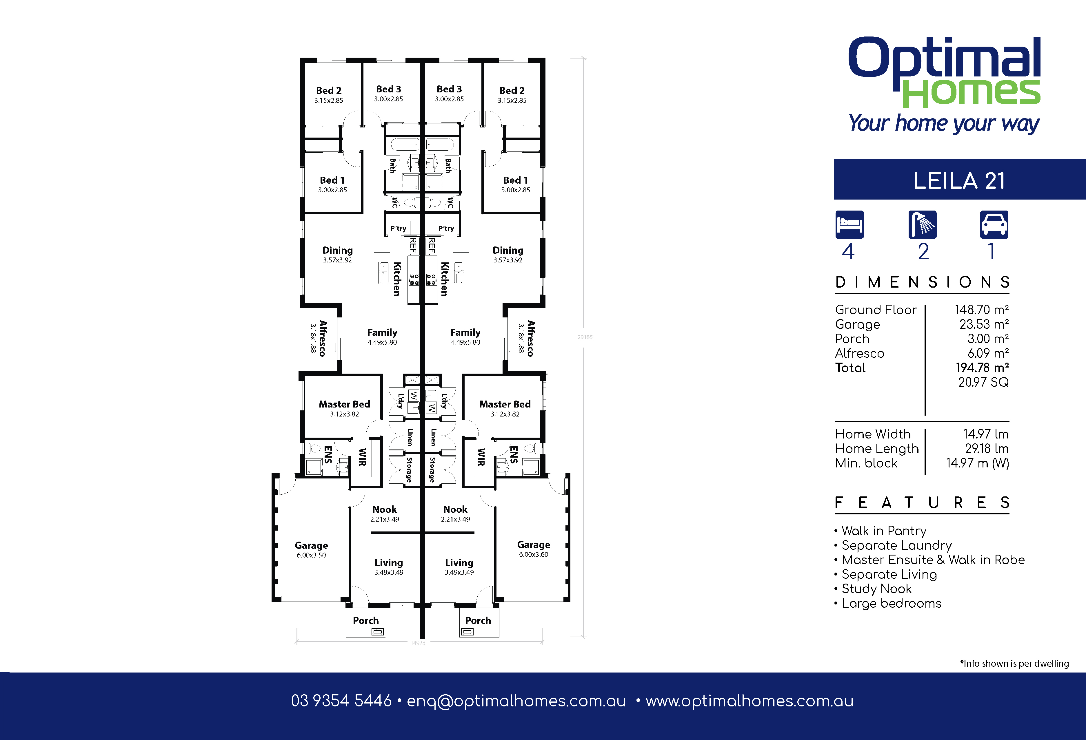 Leila 21 Floor Plan