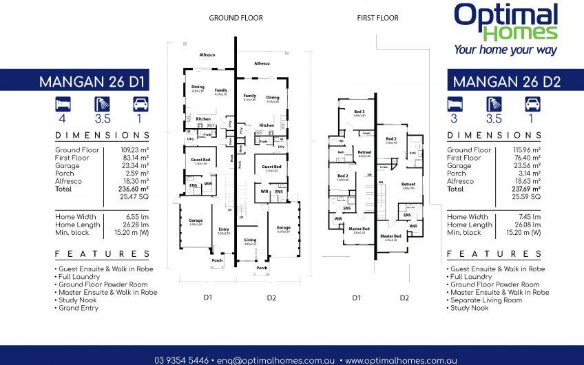 Mangan 26 Duplex