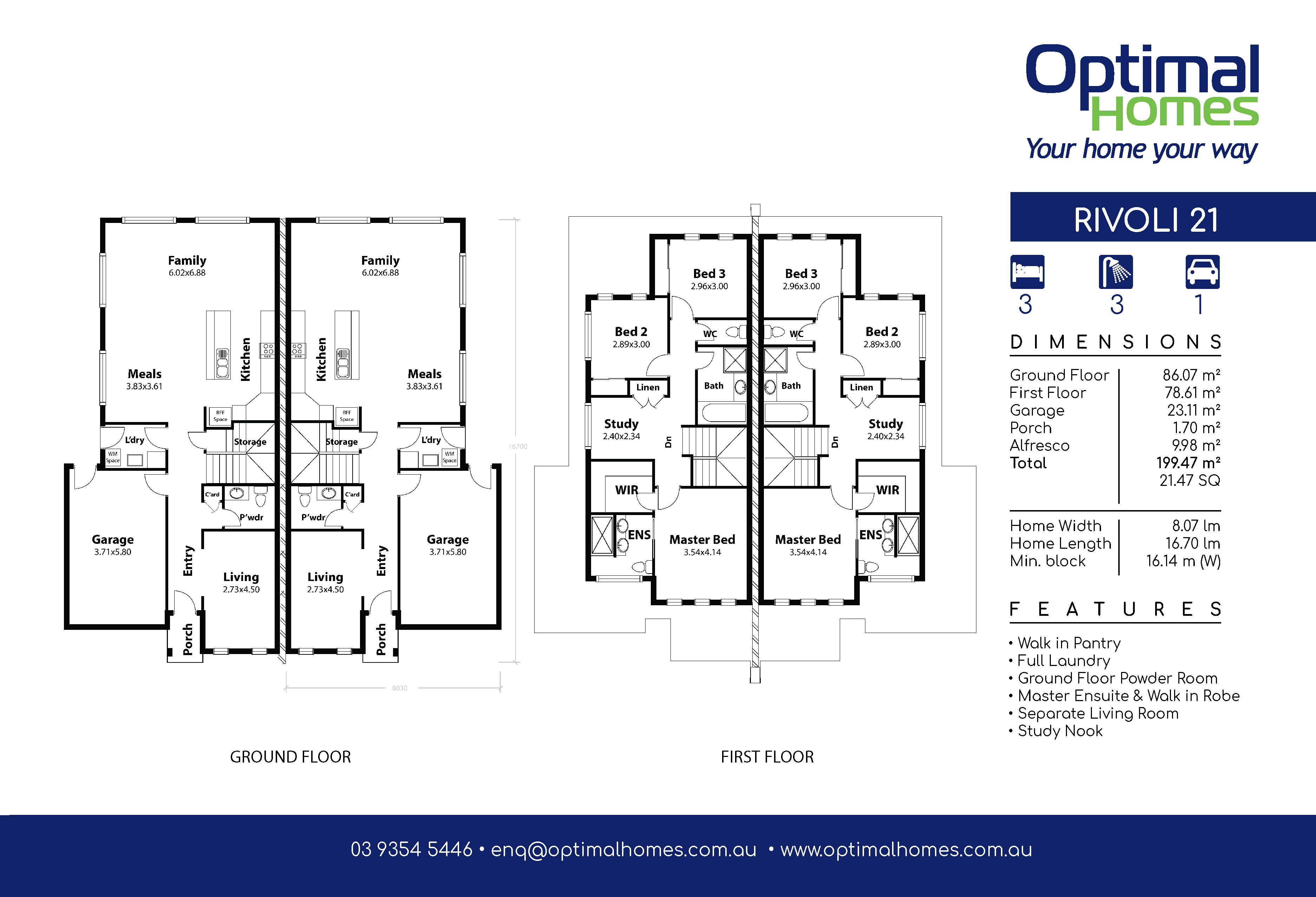 Rivoli 21 Floor Plan